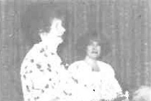 1990 Micheline Arcier presented with Honrary Memberhsip Award.jpg