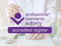 IFA 、Professional Standards Authority(PSA)より認定登録